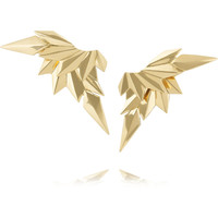 Maria Black Fine Jewelry - 18-karat gold wing earrings