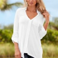 Front placket shirt by VENUS