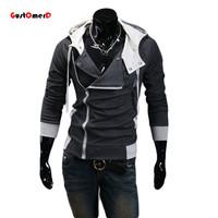 9colors M-6XL 2015 Hoodies Men Sweatshirt Male Tracksuit Hooded Jacket Casual  Male Hooded Jackets moleton Assassins Creed