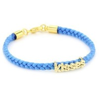 Tai Blue Kisses Charm Bracelet - designer shoes, handbags, jewelry, watches, and fashion accessories | endless.com
