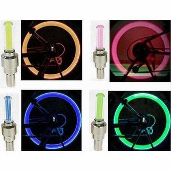 Led Bike Bicycle Lights Install at Bicycle Wheel Tire Valve's Bike Cycling Led Bycicle Accessories
