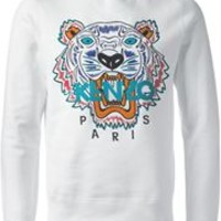 Kenzo Embroidered Tiger Sweatshirt - - Farfetch.com