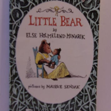 Little Bear Paperback Book 1985 Childrens Else Holmelund Minarik Maurice Sendak