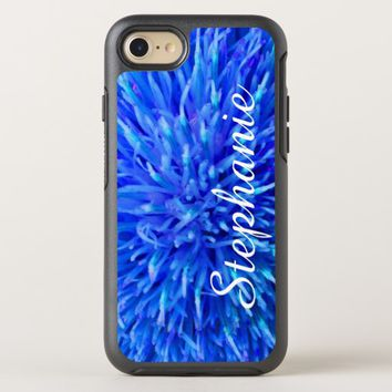 Personalized Blue Abstract Apple iPhone 7