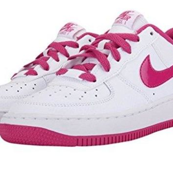 Nike Air Force 1 (GS) Girls Basketball Shoes 314219-109  air force ones nike