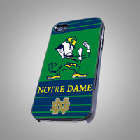 Notre Dame Fighting Irish - Pint on Hard Cover - For iPhone 4/4S Case and iPhone 5  Case