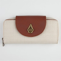Volcom Pure Fun Wallet Natural One Size For Women 21027642301