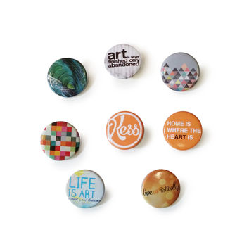 KESS Original Button Collection (8-Pack)