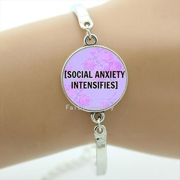 Social Anxiety Intensifies bracelet