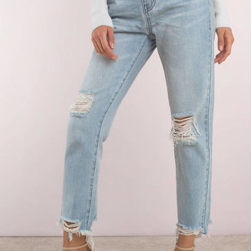 SUNLAND HIGH RISE GIRLFRIEND JEAN