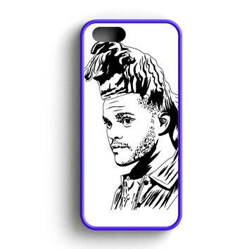 The Weeknd Ovo Madness Black And White iPhone 5 Case iPhone 5s Case iPhone 5c Case