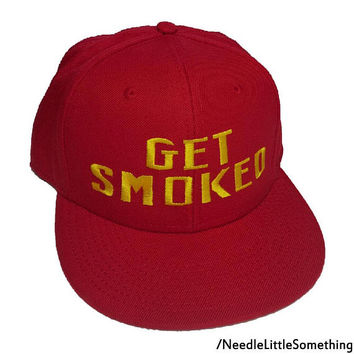 GET SMOKED Persona 5 Cosplay Embroidered Snapback Hat