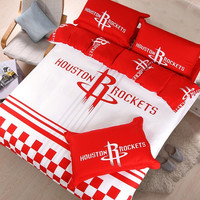 NBA Houston rockets bedding Set | EBeddingSets