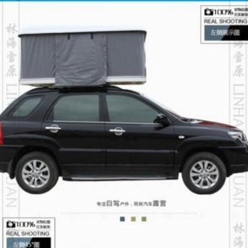 Car tent Glass fibre car camping reinforced plastic Hardtop Portable vehicle mounted tent Portable vehicle mounted tent