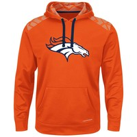 Majestic Denver Broncos Armor Pullover Synthetic Fleece