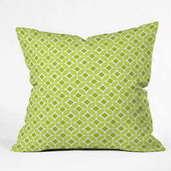 Caroline Okun Mantis Throw Pillow