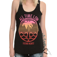 All Time Low Palm Tree Girls Tank Top