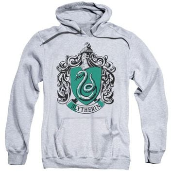 Harry Potter Slytherin Crest Licensed Adult Hoodie