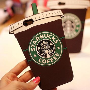Starbucks Fashion Coffee iPhone Phone Cover Case For iphone 6 6s 6plus 6s-plus 7 7plus