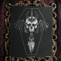 In Memoriam Torch - Limited Edition Screen Print