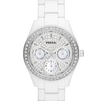 Fossil Plastic Glitz Watch