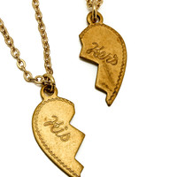 His & Hers Necklace Set