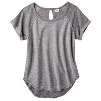 Mossimo Supply Co. Junior's Keyhole Raglan Top - Assorted Colors