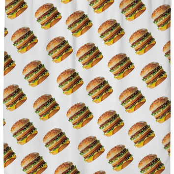 Perez Hilton Big Mac Shower Curtain
