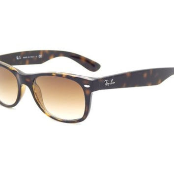 New Ray Ban RB2132 710/51 Light Havana / Crystal Brown Gradient 52mm Sunglasses
