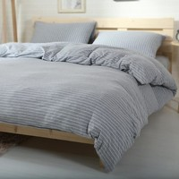 Bedroom On Sale Hot Deal Cotton Knit Bedding Set [45979074585]