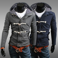 Winter Men's Fashion Plus Size Hot Sale Men Hats Hoodies Jacket [6528748611]