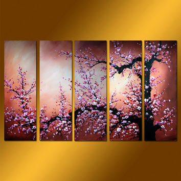 GFL5001  5-PCS Group Oil Painting