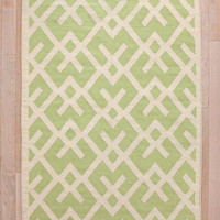 Urban Outfitters - Cross-Hatch Dhurrie Rug