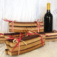 """BBQ STAVE - """"Roble"""" - Set of 8 Wine Barrel Barbecue Staves -100% recycled"""