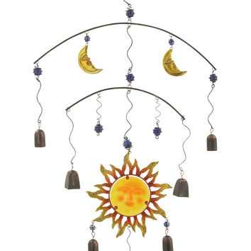 Alluring Metal Glass Wind Chime