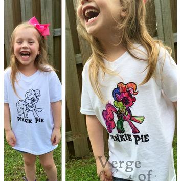 Color Me Shirt with Washable Markers & Personalized Character