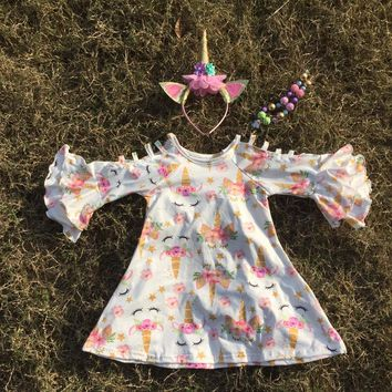 presale unicorn cotton milk silk baby girls kids boutique clothe 9b892bce5