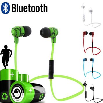 Sports Bluetooth Earphone Mini Wireless Crack Headphone Earbuds Earpiece Hand Free Headset Universal Ecouteur Sans Fil Casque