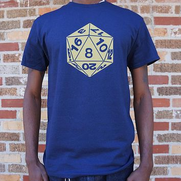 20-Sided Die [Dungeons & Dragons Inspired] Men's T-Shirt
