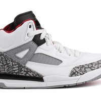 Nike Air Jordan Spizike BP Little Kid's Shoes White/Cement Grey