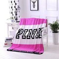 Victoria's Secret Love Pink Blanket