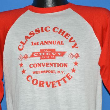 80s 1st Annual Classic Chevy Convention t-shirt Medium
