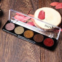 IMAGIC Glitter Eye Shadow  Bright Rainbow Pearl granules Glitters Diamond EyeShadows Cosmetic Make up Rainbow Eyeshadows