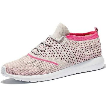 Athletic Flyknit Breathable Walking Shoes