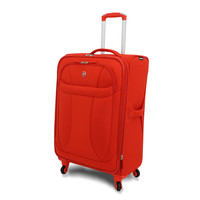 "Wenger Orange Neolite 24-inch Lightweight Spinner Upright Suitcase | Overstock.com Shopping - The Best Deals on 24""-25"" Uprights"