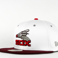 Chicago Whitesox White, Maroon, Red (Gray Under) 59fifty