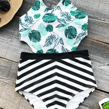 Cupshe Sunny Summer Print One-piece Swimsuit