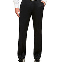 Perry Ellis Performance Luxe Flat-Front Pants