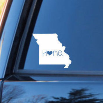 Montana Home Decal | Montana State Decal | Homestate Decals | Love Sticker | Love Decal  | Car Decal | Car Stickers | 066