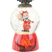 Nightmare Before Christmas Lock Mini Water Globe